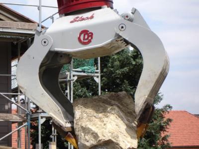 Ideal zum Versetzen von Natursteinen: Der DRG22 von Steck