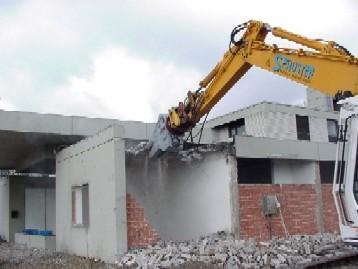 Abbruch Bürogebäude