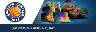 Conexpo  7-11.März 2017 in Las Vegas