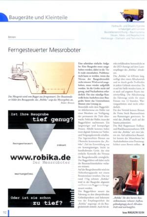 robika Messroboter