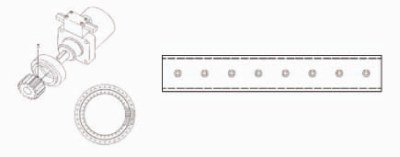 Ersatzteile: Drehwerk, Unterschraubmesser, Greiferschalen und Bolzen passend zu Abbruchgreifer HGT