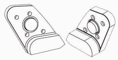 Ersatzteile: Drehdurchführung, Drehmotor, Drehkranz, Messer und Bolzen passend zu Schrottschere Bonfiglioli
