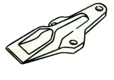 Liebherr-System Zähne und Schrauben