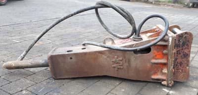gebrauchter Abbruchhammer Wimmer W200