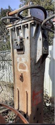 gebrauchter Abbruchhammer Steck B40