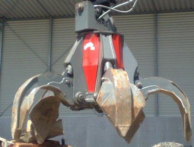 gebr. Mehrschalengreifer MG804