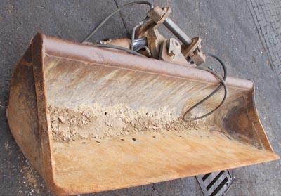 Grabenraumlöffel 200cm schwenkbar