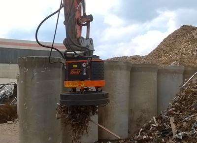 Hydraulikmagnet  Lasthebemagnet  Baggermagnet  Rundmagnet Schrottmagnet