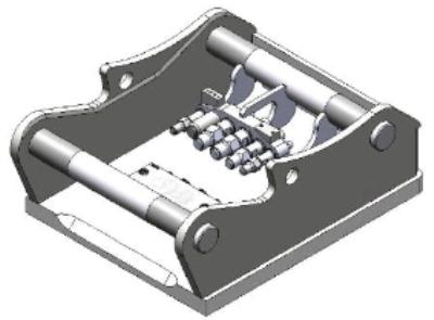 Adapterplatte  OilQuick- System