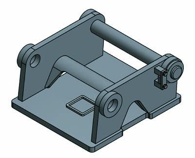 Adapterplatte Liebherr - System