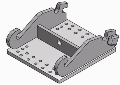 Adapterplatte System Verachtert
