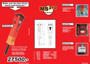 Angebot Abbruchhammer MS210